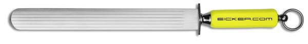 Wetzstahl 30cm flach / oval mit 6 Rillen